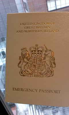emergency passport