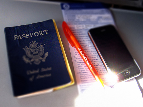 passport forms